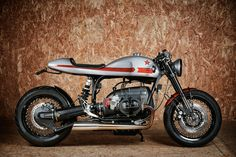 clean, simple, elegant and fast, the bmw r80 'thirteen' is lucky for one
