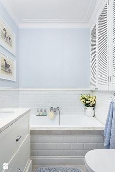 Spokojna przestrzeń. - zdjęcie od Malwina Wilczek Projektowanie Wnętrz - Łazienka - Styl Nowojorski - Malwina Wilczek Projektowanie Wnętrz