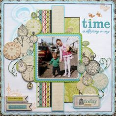 Time is slipping away by Emilia van den Heuvel
