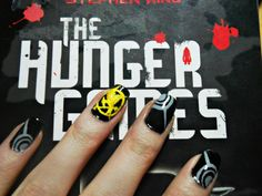 Hunger games nail art by ~evaogo on deviantART