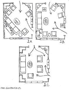 Furniture Arranging Tricks Arrange Furniture Living Rooms And Room