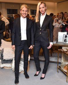 A look at Ellen DeGeneres's celebration at Bergdorf Goodman to celebrate Fashion Week. Ellen DeGeneres ED by Ellen Launch at Bergdorf Goodman