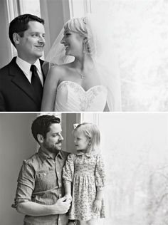 A Mans Wife Died. This Is What He Did With Their Wedding Photos.