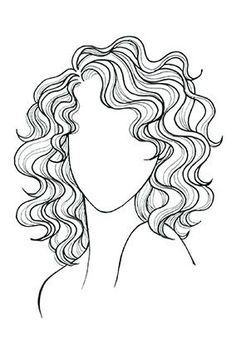 Wavy/Curly Hair, Oval Face: A cut that skims your shoulders plays up curls; a side part enhances cheekbones. Oval Face Haircuts, Haircuts For Curly Hair, Cool Haircuts, Shoulder Length Curly Hairstyles, Medium Curly Haircuts, Funky Hairstyles, Formal Hairstyles, Naturally Curly Haircuts, Curly Hairstyles For Medium Hair