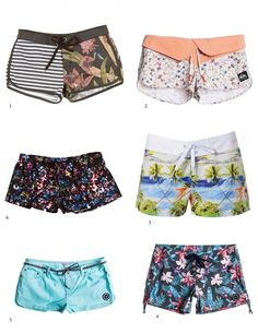 Roxy to Quicksliver board~shorts