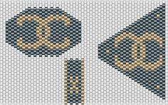 Posts similairesPorte clés flower power «black soul»Un autre porte clés flower powerCollier «waves» en vieux rosePattern Lézard – schéma lézardSpirale au crochet motif BurberryManchette E.L peyote Peyote Beading Patterns, Seed Bead Patterns, Loom Beading, Logo Chanel, Bracelet Chanel, Needlepoint Belts, Brick Design, Crochet Motifs, Beaded Purses