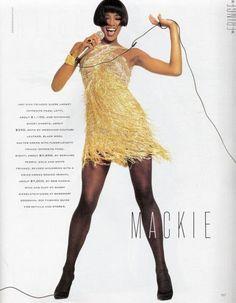 Naomi for Bob Mackie