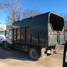 Adding to our fleet! Welcome to the family truck In the shop for a once over and a tarp roller to replace the cover and she'll be ready to move some pavers and block! Lawn Maintenance, Removal Services, Welcome To The Family, Garden Design, Truck, Management, River, Landscape, Shop