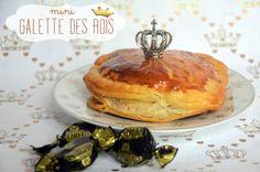 Recette de galettes des Rois très originale avec une frangipane aux pistaches et aux bonbons Michoko pour une épiphanie qui sort de l'ordinaire