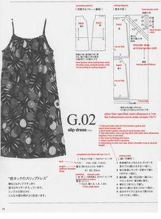 slip dress tutorial