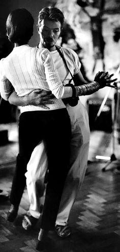 tesserariuss:David Bowie & Iman