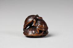 Netsuke of Three Turtles, 18th century. Japan. The Metropolitan Museum of Art, New York. Gift of Mrs. Russell Sage, 1910 (10.211.1692)