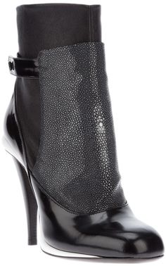 Fendi Heeled Ankle Boot - Lyst