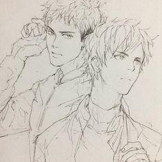 Jean and Eren ~ SNK
