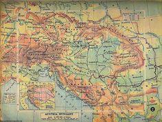 Austria-Hungary Map