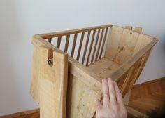 Berço de paletes de madeira reciclada mobiliário reciclado Paletes