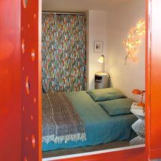 orange My Dream Home, Interior Design, Bedroom, Furniture, Home Decor, Orange, Bed End, Bedding, Comfy Bed