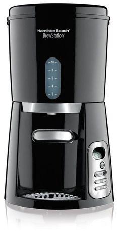 Hamilton Beach 10-Cup Coffee Maker, Programmable BrewStation Dispensing Coffee Machine