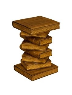 Handcrafted Twist Stools, Stacked Book Tables, Quirky Chairs And Much More  In Our Monkey Pod Range.