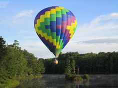 Pittsfield NH Balloon Festival