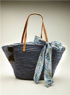 Tulip Tote with Floral Bow by Straw Studios   Retail: $87.00  @Loehmanns: $49.99    http://www.loehmanns.com/Shoes-and-Handbags-Handbags-Traditional/Straw-Studios-TULIP-TOTE-WFLORAL-BOW.htm
