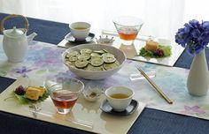 テーブルコーディネート/おすすめコーディネート/シーズンコレクション/雨の日のおもてなし | テーブルクロスの専門店 レシピ