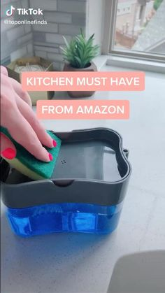 Cool Gadgets To Buy, Cool Kitchen Gadgets, Kitchen Hacks, Car Gadgets, Gizmos And Gadgets, Amazon Gadgets, Kitchen Organization, Kitchen Storage, Medicine Organization
