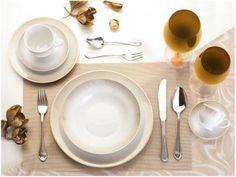 Aparelho de Jantar Chá Café 42 Peças Casambiente - Porcelana Redondo Millenium Royal Castle com as melhores condições você encontra no Magazine Dufrom. Confira!