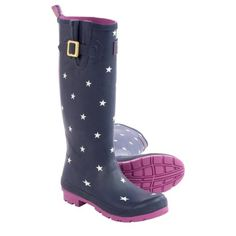 Joules Welly Printed Rain Boots (For Women) - Save 60%
