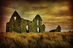 Ruined House at Lough Easkey, Co. Sligo
