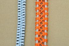 DIY Lacey Macrame Bracelet