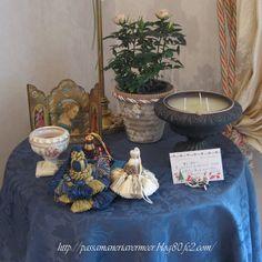タッセル ***「Chez Mimosa シェ ミモザ」   ~Tassel&Fringe&Soft furnishingのある暮らし  ~   フランスやイタリアのタッセル・フリンジ・  ファブリック・小家具などのソフトファニッシングで  、暮らしを彩りましょう     http://passamaneriavermeer.blog80.fc2.com/