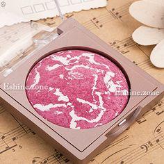 Makeup Blusher Palette Cheek Baked Blush Natrual Face Powder Highlight Rose Red