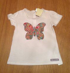 patchwork butterfly shirt  Camiseta mariposa patchwork