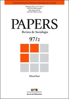 Papers. Revista de Sociologia Chart, Search, Journals