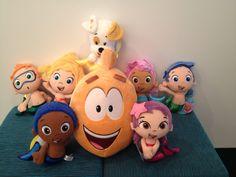 Bubble Guppies plush dolls make a swim-sational gift this holiday season!