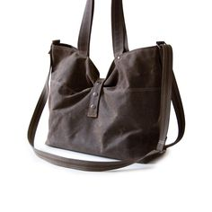 Waxed Canvas bag from Moop