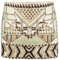Newaz Skirt ($193) ❤ liked on Polyvore