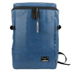 c057aeeacbbc Blue Laptop Backpack for College Mens Book Bags LEFTFIELD 600
