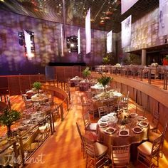 Jazz at Lincoln Center - Tiered reception seating