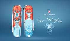 A collaborative project  https://www.behance.net/gallery/57752323/Love-Metaphor-Victorinox-Limited-Edition-2017  made for Victorinox Limited Edition 2017 on Jovoto, in collaboration with my dear friend and artist Janina Bourosu https://www.janinabourosu.com/
