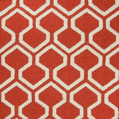 The G4586 Paprika upholstery fabric by KOVI Fabrics features Geometric, Lattice pattern and Red as its colors. It is a Embroidery, Texture type of upholstery fabric and it is made of 100% Polyester With 100% Polyester Embroidery material. It is rated Exceeds 6,000 double rubs (heavy duty) which makes this upholstery fabric ideal for residential, commercial and hospitality upholstery projects. This upholstery fabric is 52 inches wide and is sold by the yard in 0.25 yard increments or by the…