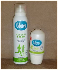 Odorex Natural Fresh deodorant spray roller recensie review