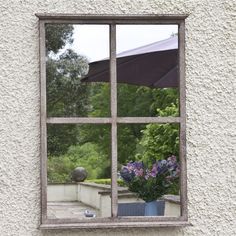 Shamrock Garden Mirror | garden Mirror | Free UK delivery