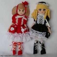 Mimin Dolls: Lolitas de feltro