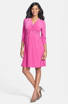 Japanese Weekend 'Italian Twist' Maternity Dress available at #Nordstrom