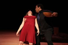 Falling at Noh Space Theater, San Francisco, CA Theater, San Francisco, One Shoulder, Film, Formal Dresses, Space, Women, Fashion, Movie