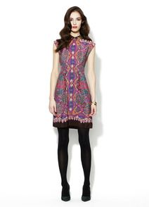 Indian Summer Silk Dress by Nanette Lepore at Gilt