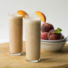 How to Peach Pie Protein Shake
