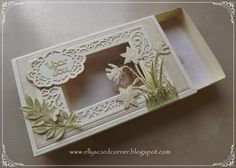 Card Making Designs, Flower Food, Die Cut Cards, I Card, Decorative Boxes, Paper Crafts, Diy, Sue Wilson, Card Boxes